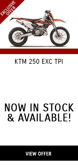 KTM 250 EXC TPI - Now In Stock & Available!