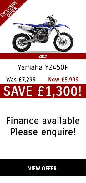 Yamaha YZ450F - Only £5,999!
